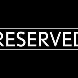 Reserved for Renee