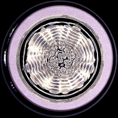LIMINAL Cymatics Projection (still)